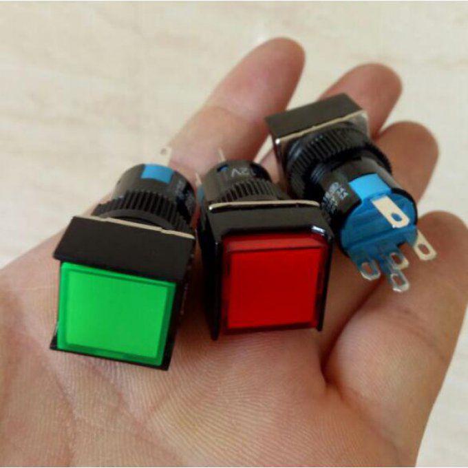 bricoelec les boutons poussoirs cmonsite. Black Bedroom Furniture Sets. Home Design Ideas