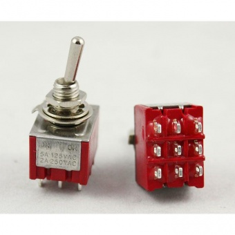 CODE EL 030  SUBMINIATURE TRIPOLAIRE ON/ON 3A 250VAC