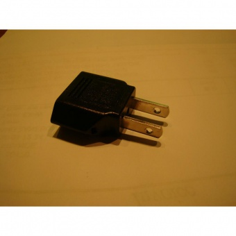CODE MRE 040  ADAPTATEUR USA ASIE/FRANCE 2 POLE