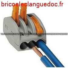 Connecteur 3 fils 1 piece,par 10 par 100 par 1000 Code CO 044